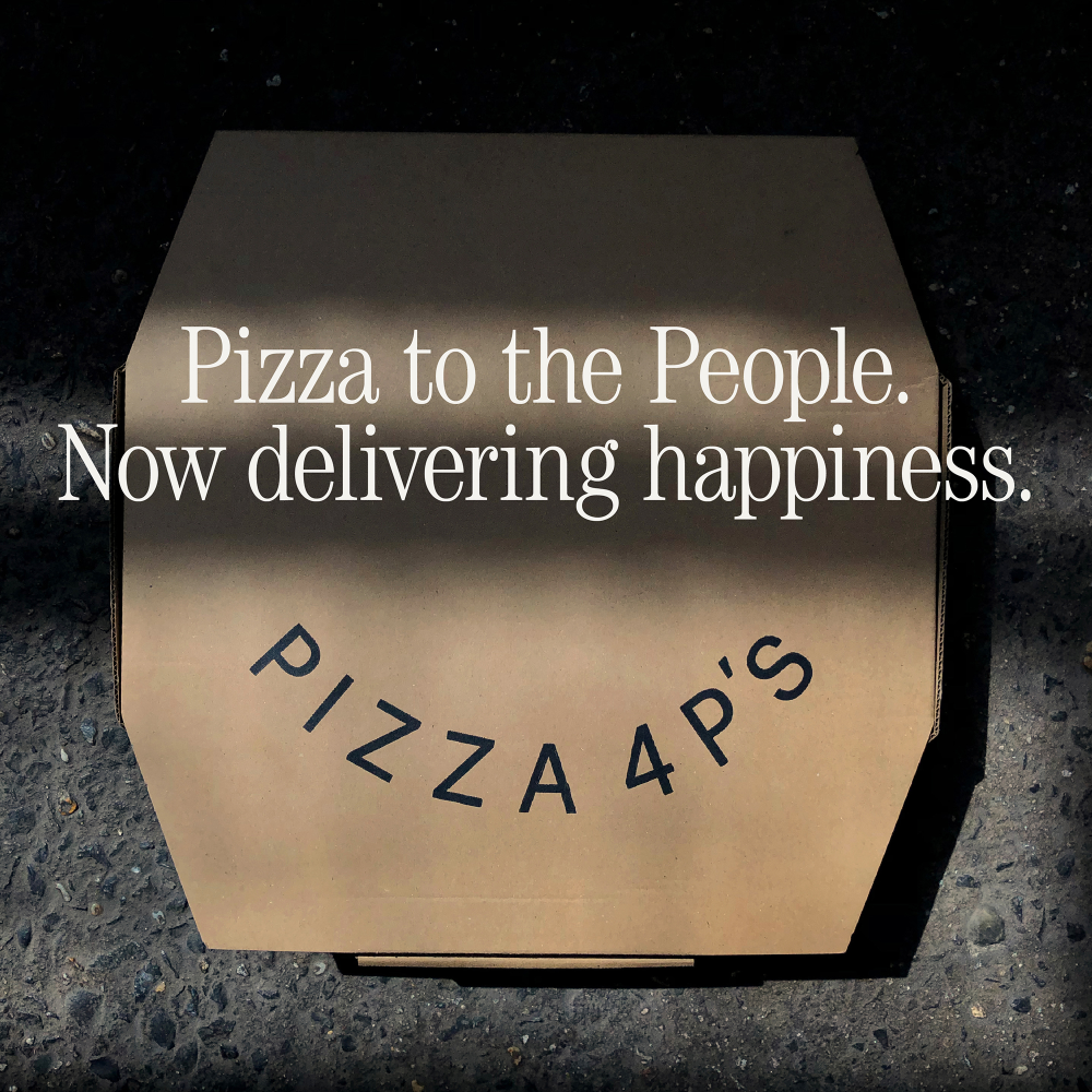 DELIVERING PIZZA, SHARING HAPPINESS | News & Media | Pizza 4P's ...